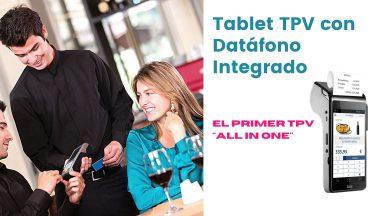 TPV Restaurantes Tablet con datafono integrado