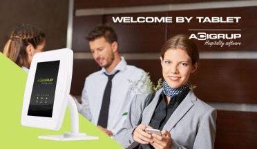 Novedad 2021: Welcome by Tablet, el Hotel Check-in aún más sencillo.
